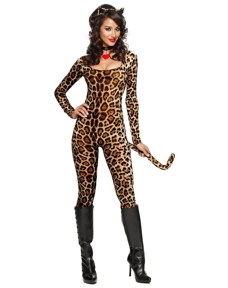 spirit halloween leopard costume