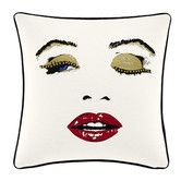 Found it at Wayfair - Wild Thing Wink Cotton Throw Pillow