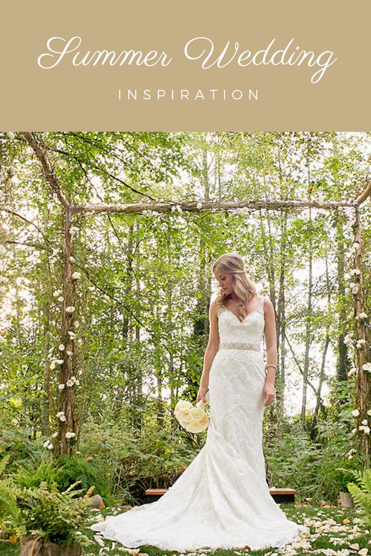 Pacific Northwest summer wedding inspiration