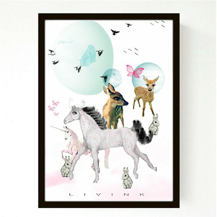 50 X 70 CM - FORUDBESTILLING - HORSE GUILT via LIVINK. Click on the image to see more!