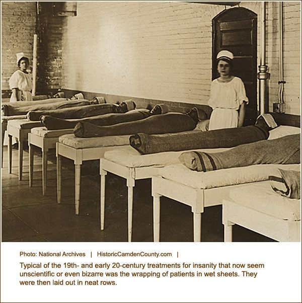Insane Asylum Patients in 1800