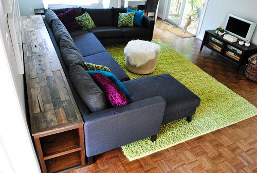 1000 Ideas About Table Behind Couch On Pinterest Behind