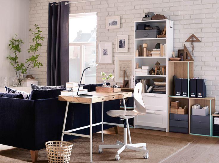 Arbeitszimmer gestaltungsideen ikea  36 besten Office Bilder auf Pinterest