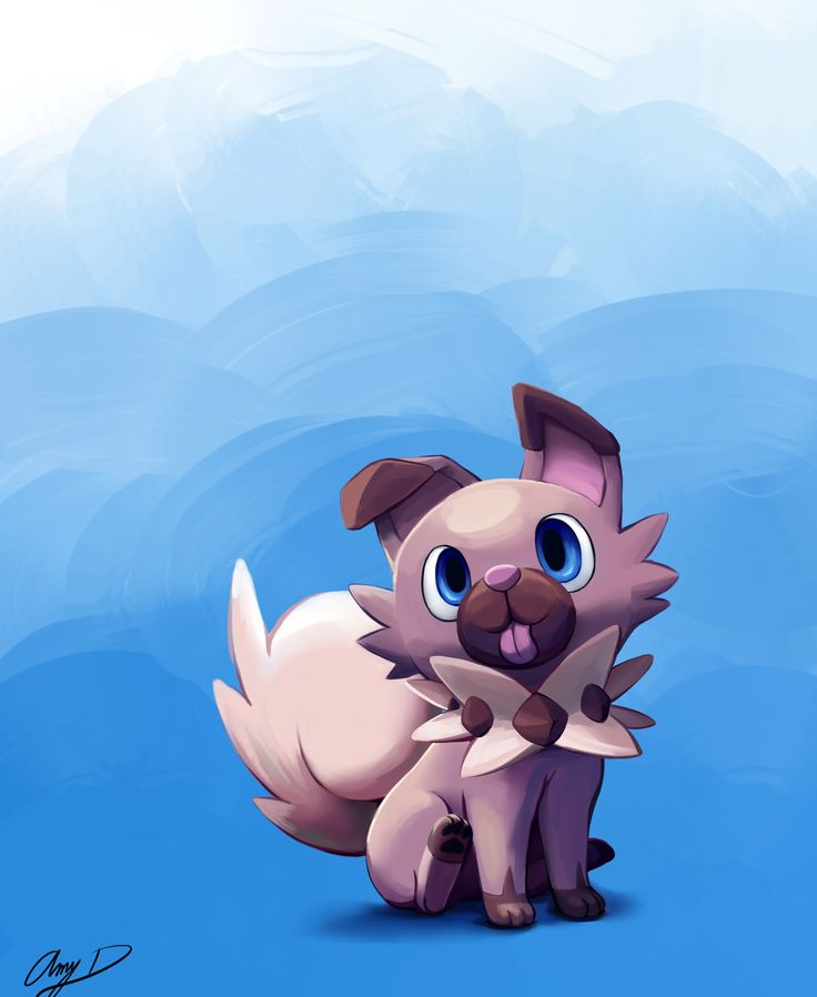 Cute Pokemon Rockruff Images
