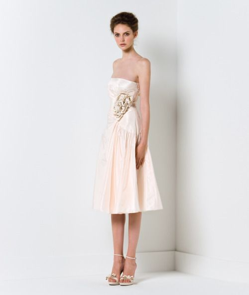 short & sweet dress from the Max Mara Bridal 2011 Collection.