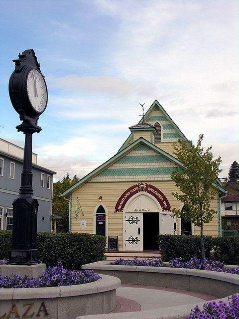 A Walk Through The Town Of Okotoks Alberta | Heartland Cafe | Flikr Photo by crossarthur76