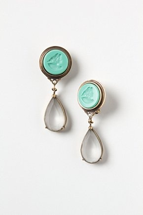 Carved Cameo Drops from Anthropologie. These are STUNNING - why can't they make clip on earrings like this??: Carvings Cameo, Cameo Earrings, Drop Earrings, Clip On Earrings, Anthropologie Eu, Anthropologie Com Oh, Style Pinboard, Cameo Drop, Jewelry Boxes