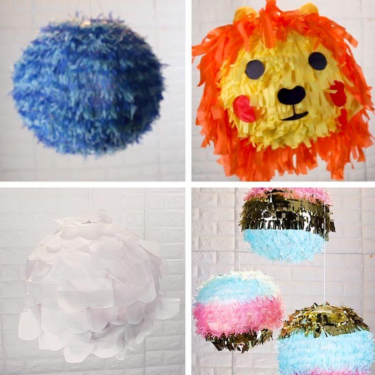 DIY Piñatas // #piñata #party #candy