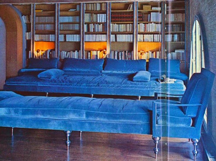 Pauline de Rothschild's library at Mouton