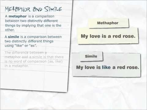Metaphor and a smile