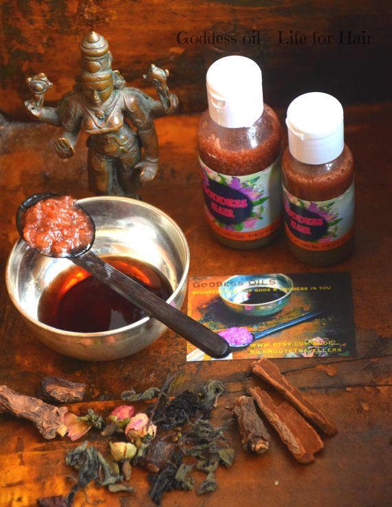 Organic Ayurvedic Hair repair Tonic Hair repair by GoddessAyurveda