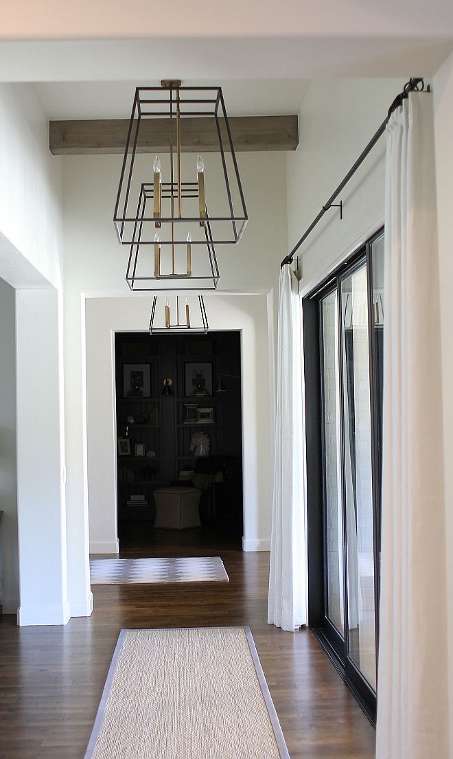 Hinkley Fulton Lanterns. Hinkley Fulton Lanterns. Hinkley Fulton Lanterns. #Hinkley #Fulton #Lanterns hall-lighting Home Bunch's Beautiful Homes of Instagram curlsandcashmere