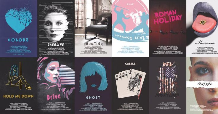 13 posters designed for Halsey's album release