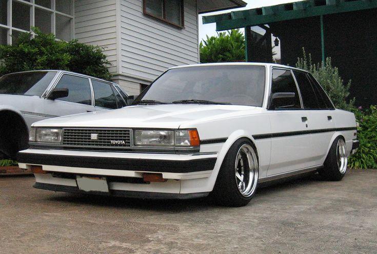 White Toyota Cressida
