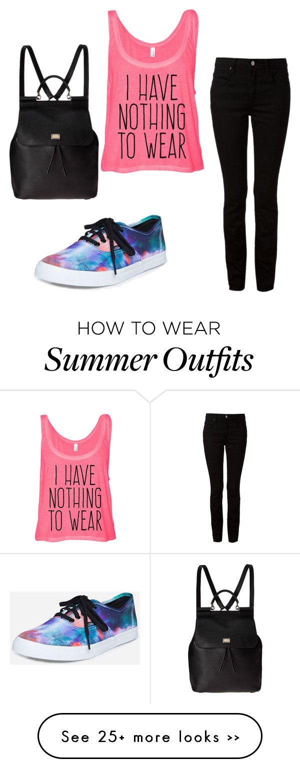 """back to school #6"" by crystalalexander-cw on Polyvore featuring Vans, T By Alexander Wang and Dolce&Gabbana"
