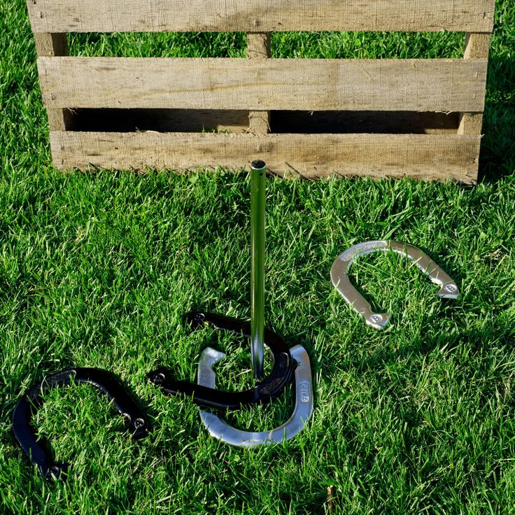 Have to have it. Trademark Games Professional Horseshoe Set - Heavy Duty $64.98