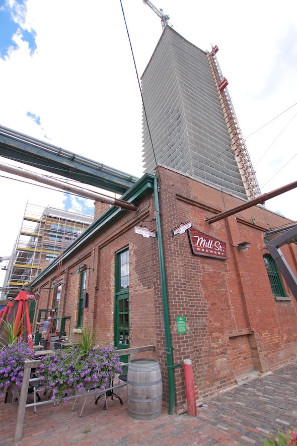 Toronto's Distillery District Mill St Brewery