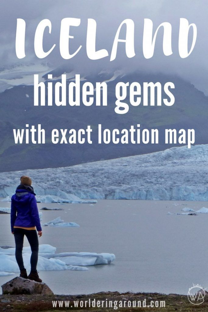 Iceland f The Beaten Path FREE map of Iceland Hidden Gems