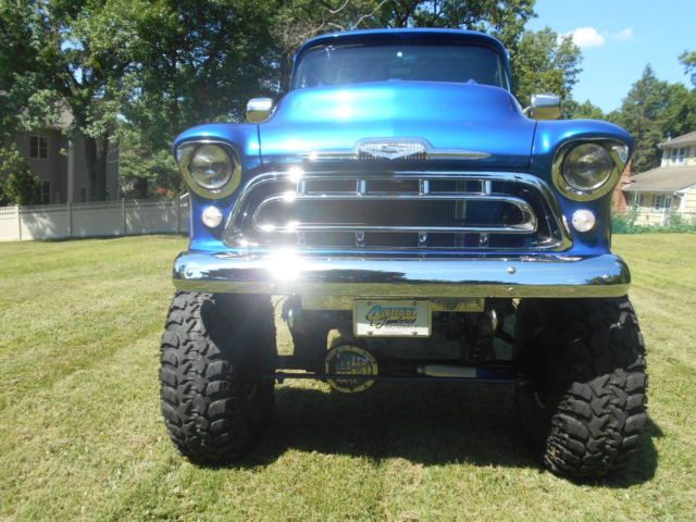Pin By Gg On Rides In 2020 Monster Trucks Chevy Apache Show Trucks