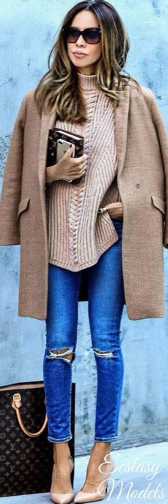 Fall Layers // Fashion Look by Sasha Simon