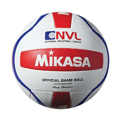 Volleyballs 159132: Official Game Ball Of The National Volleyball League (Nvl) Red/White Nvl-Pro New -> BUY IT NOW ONLY: $37.68 on eBay!