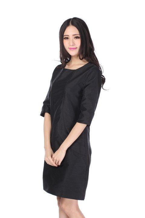 Dress RIVOLI Black licorice - EmKha