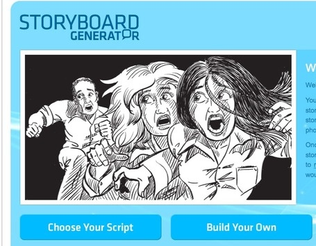 Storyboard Generator. I haven't really looked at it yet, but it seems like it could be neat.