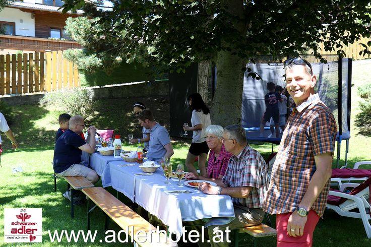 Grillen im Hotel Schwarzer Adler