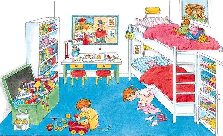 Las láminas que les presentamos a continuación representan situaciones de la vida cotidiana de gran parte de los niños. Sus usos son múltiples: narración de escena, descripción de personas y objeto…