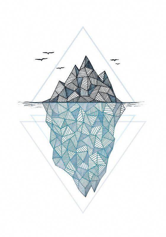 geometrische Tattoo-Design einfach #Geometrictattoos