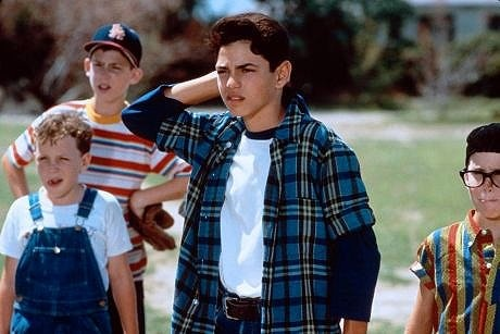 The Sandlot Kids - every girl liked Rodriguez growing up!