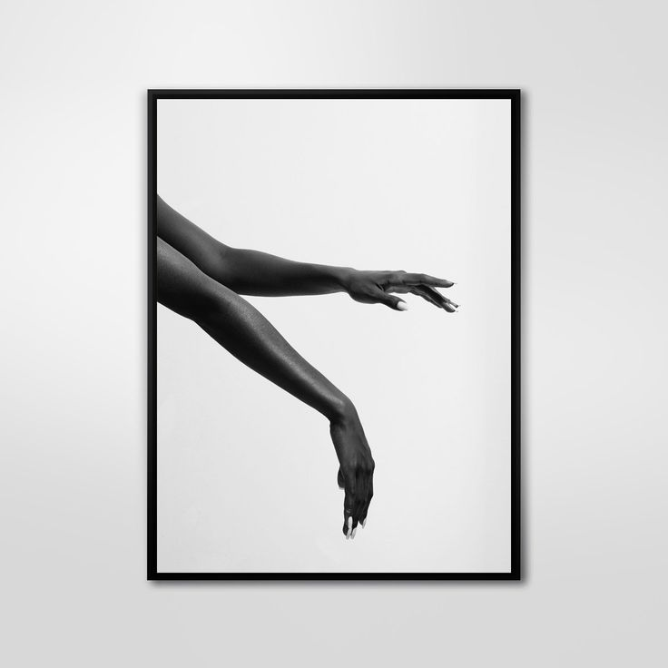 Floating Hands, Black and White Photography, Fashion Photography, Wall Decor, Abstract Large Printable Poster, Modern, Minimalist by PrintingDots on Etsy