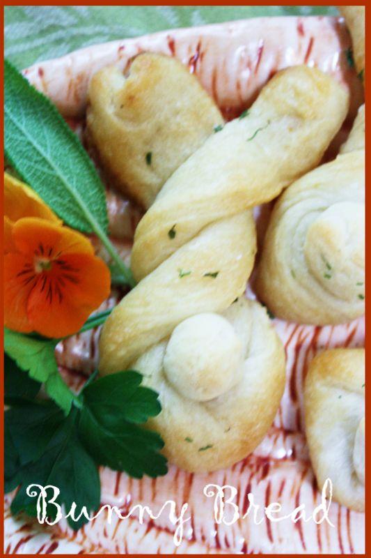 bunny bread... | Spring Love/Easter Love | Pinterest