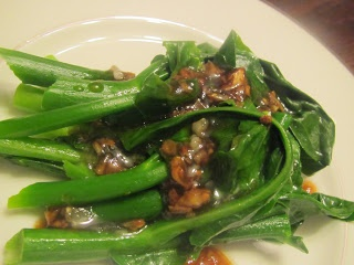 Chinese Broccoli In Oyster sauce And Garlic