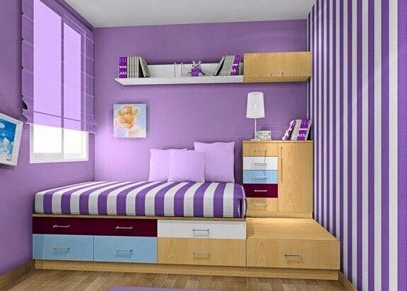 52 Dekorasi Kamar Tidur Minimalis Anak Perempuan | Desainrumahnya.com