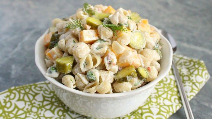 Your summer cookout will never be the same after you make this pasta that packs a dill pickle punch and comes together in three simple steps.