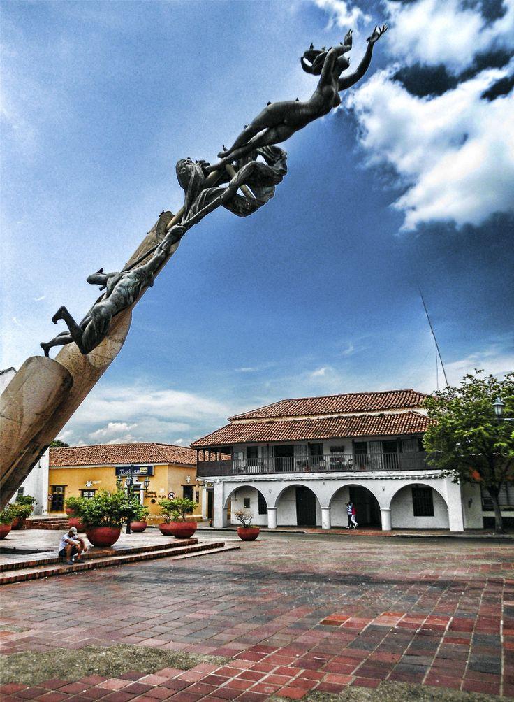 plaza alfonso lopez -Valledupar
