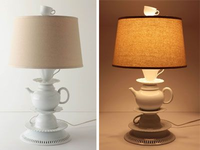 Still wondering how to repurpose all that old crockery you have lying around?