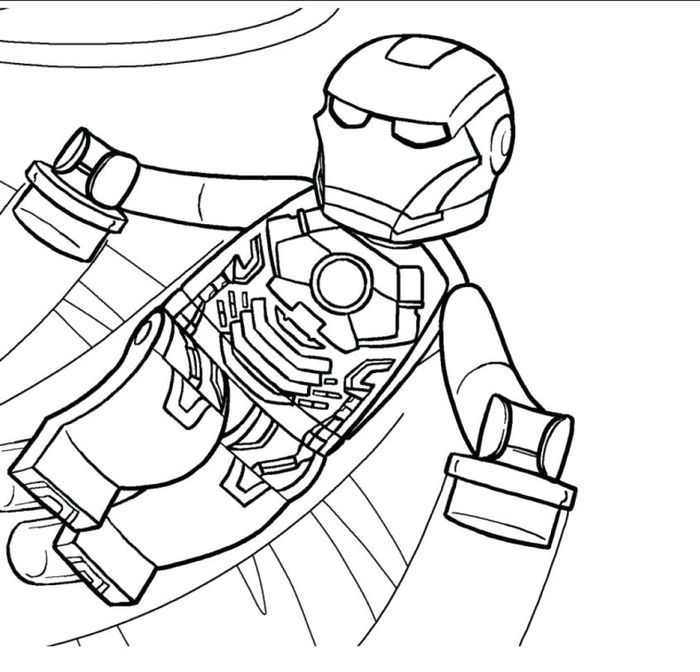 Lego Iron Man Coloring Pages Superhero Coloring Pages Avengers Coloring Superhero Coloring
