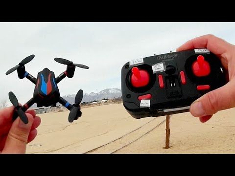 LiDi RC L18 Land Air Fighter Drone Flight Test Review