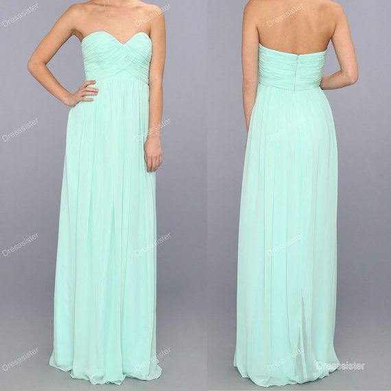 mint bridesmaid dresses