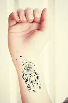 small dreamcatcher tattoo - Google Search