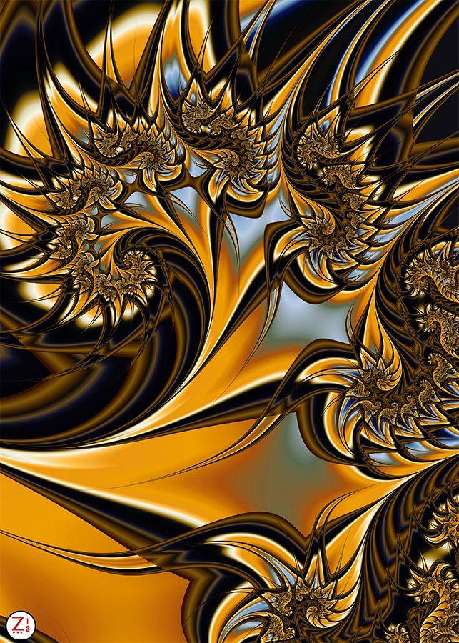 Phoenix Wildchild by Zooreka-Art Fractal