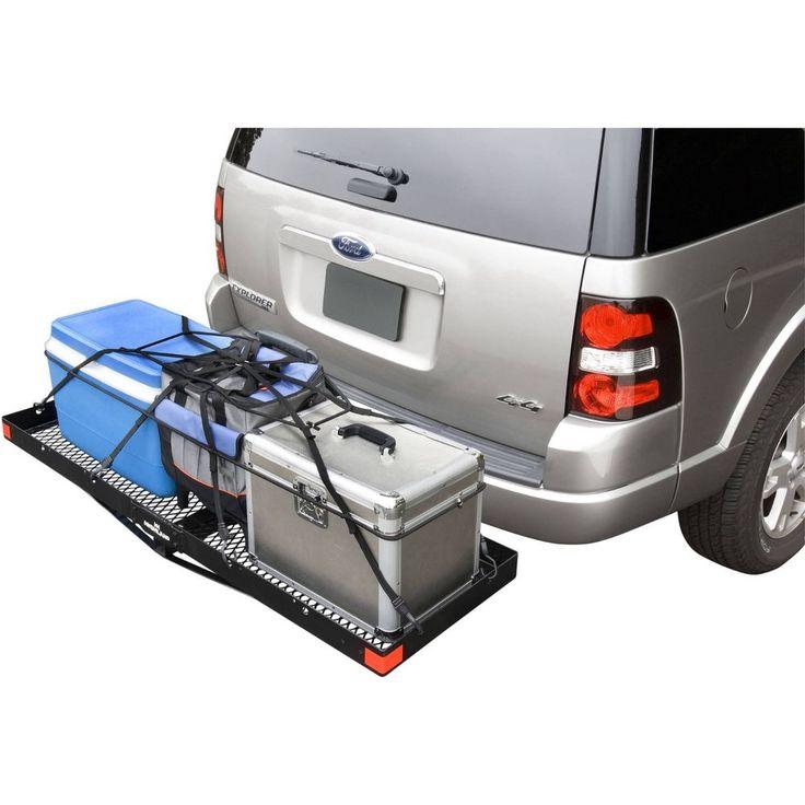 Cargo Carrier Hitch Mount Highland 1042000 Receiver Truck SUV Car Luggage  Rack #Highland