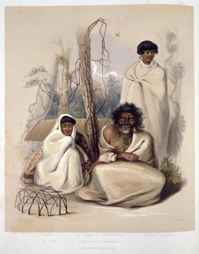 Nohorua and Te Wainokenoke. Te R's half brother