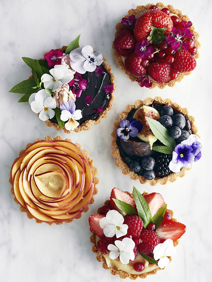 The prettiest (& yummiest) tarts there ever was!