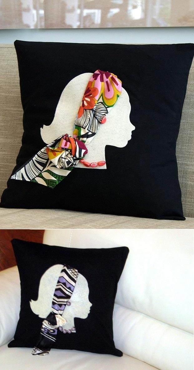 Uma aplicação & 363 best cojines images on Pinterest | Fabric painting Cushions ... pillowsntoast.com