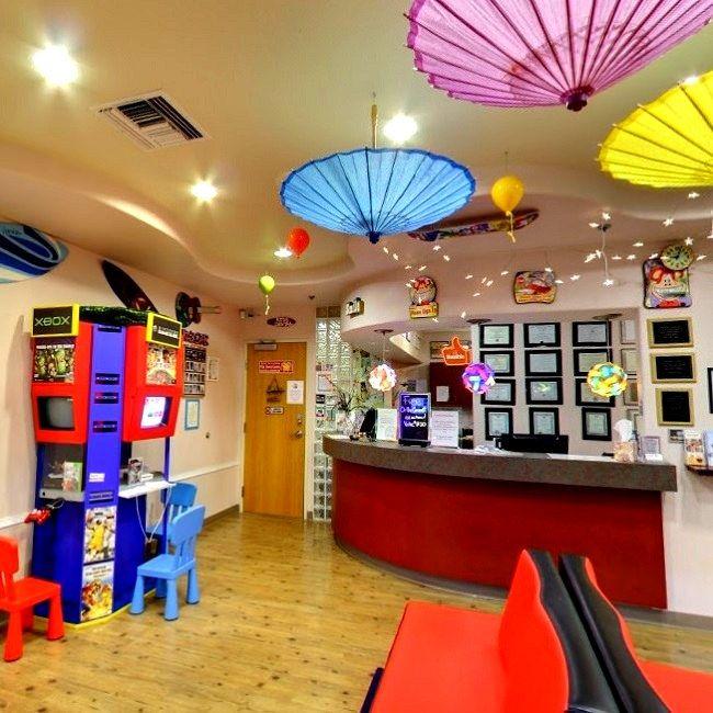#Waitingarea and #receptioncenter at Kids Dental Center #Chandler #Arizona