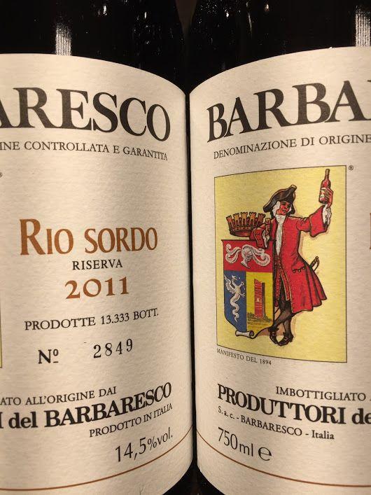 New Arrivals. 2011 Produttori del Barbaresco Barbaresco Riserva Rio Sordo. Bi...