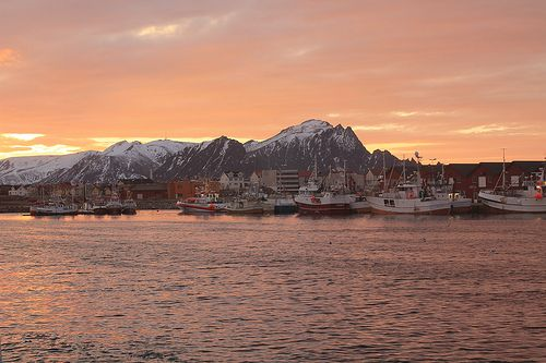Winter is colourful on the #Lofoten Islands! #magicnorway